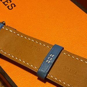 Hermes Accessories - Hermès Apple Watch Double Tour 38mm Watch Strap